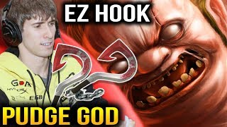 DENDI PUDGE Legendary Player - 20 Mins Easy Game Dota 2 7.07c