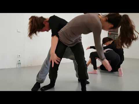 Stage avec Sylvie Klinger et Damien Launès (Noun danse - Montpellier)