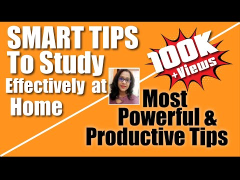 Effective study tips : Tips and Techniques to study effectively || Clear and Concise way of studying