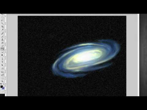 Photoshop - Galaxy Speed Painting