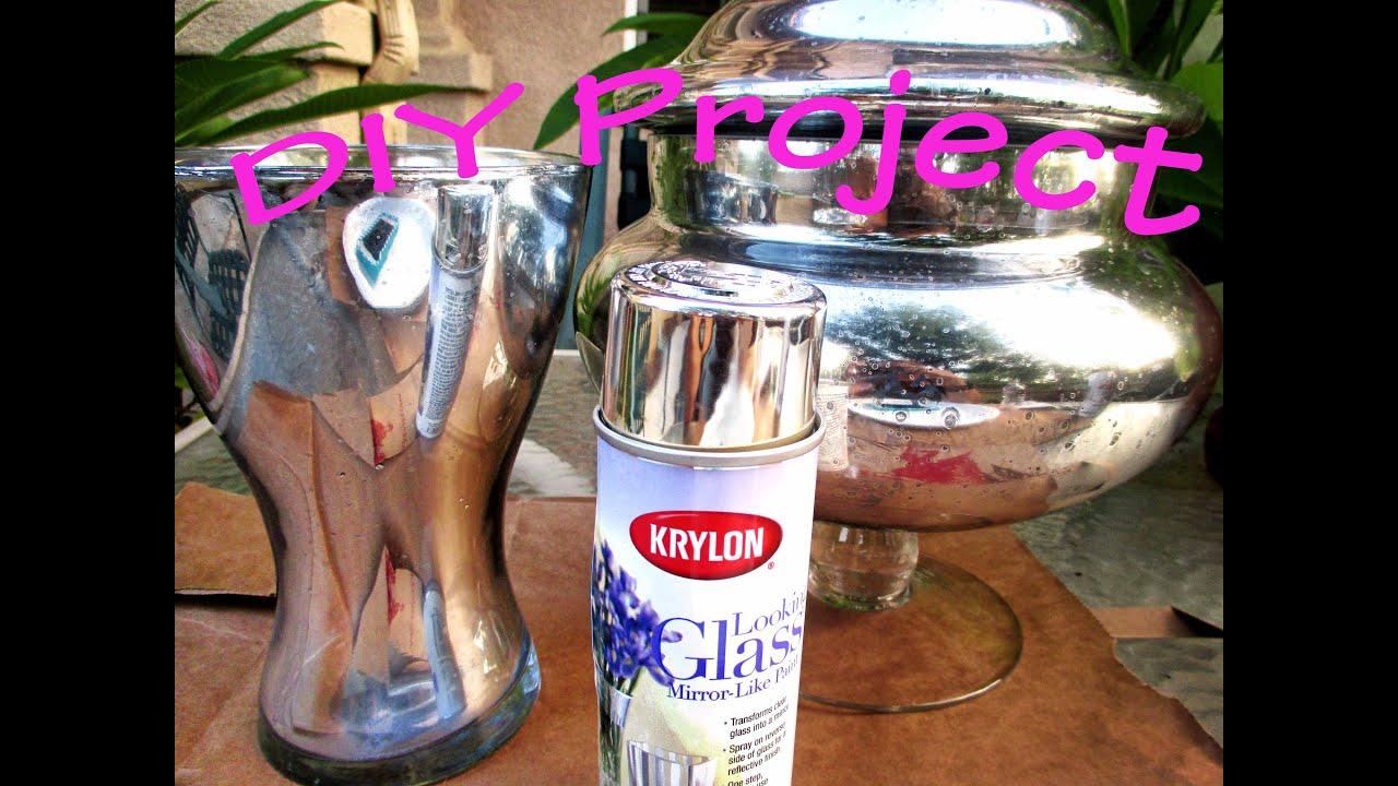 Finds Diy Metallic Mercury Glass Effect Asimplysimplelife You