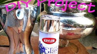 Video Pinterest Finds: DIY Metallic/Mercury Glass Effect - asimplysimplelife download MP3, 3GP, MP4, WEBM, AVI, FLV Oktober 2018