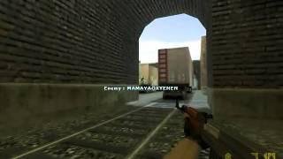 5TEAMMATES: Fierce ace AK-47 @ de_train