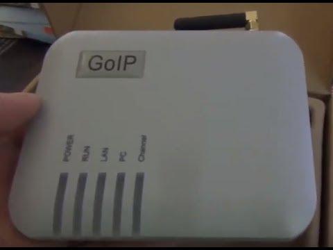 Gsm шлюз Goip