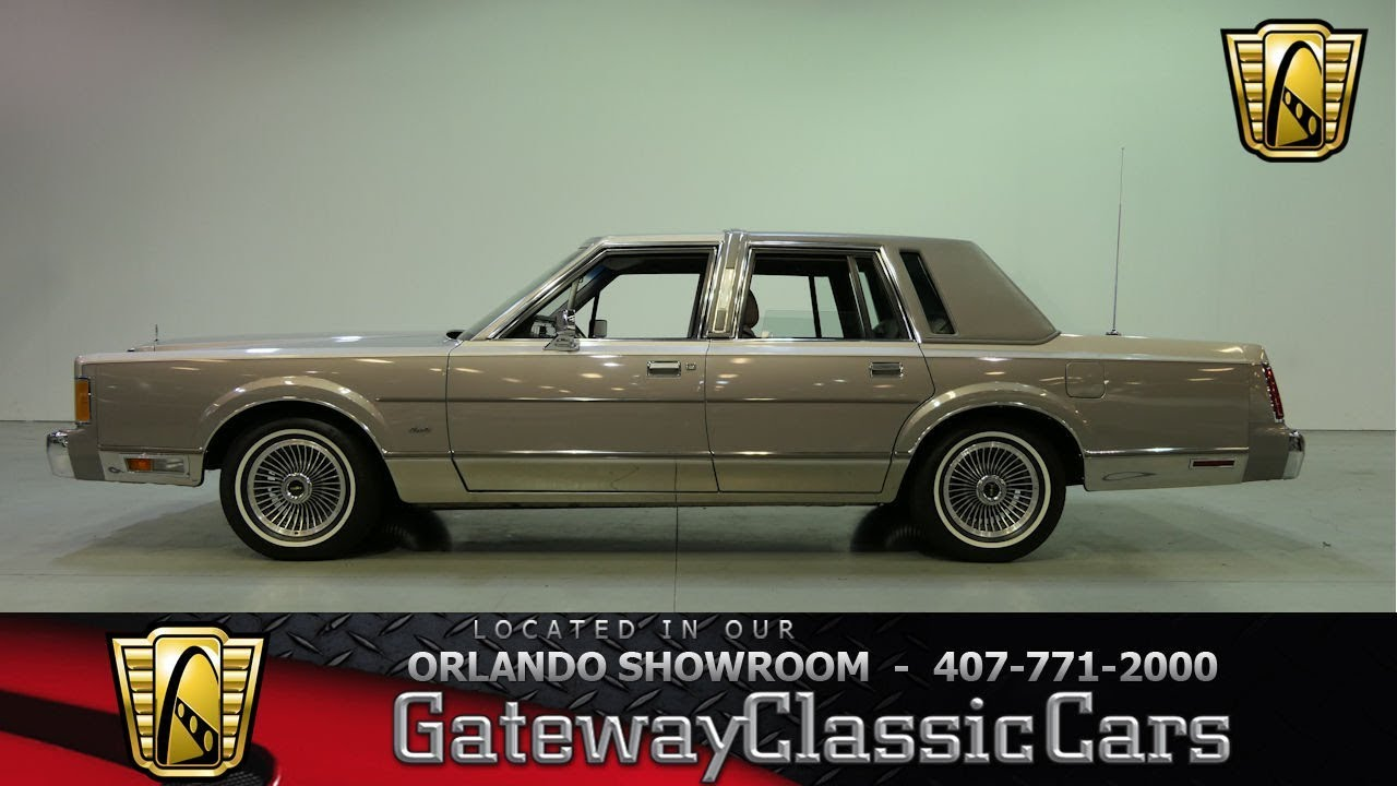 1989 Lincoln Town Car For Sale Gc 33453 Gocars