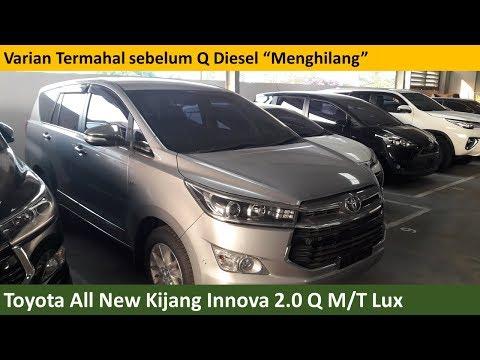 All New Kijang Innova 2.4 G At Diesel Dimensi 2016 Toyota 2 4 Standard 2018 Exterior Walkaround