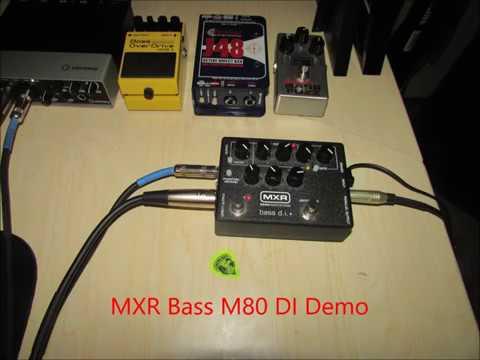 mxr bass m80 di demo youtube. Black Bedroom Furniture Sets. Home Design Ideas