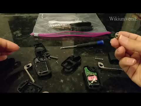 How to Replace KIA KEY-FOB SHELL – THE RIGHT and PROPER WAY !!!