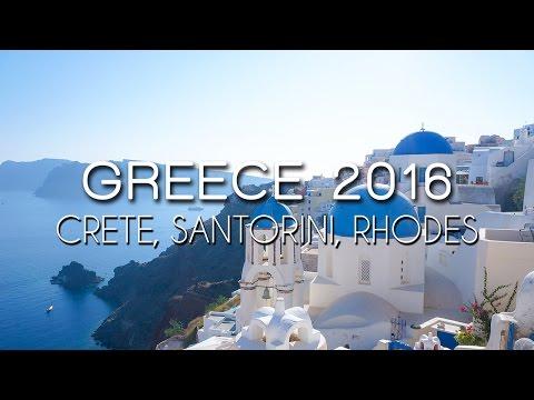Greece 2015 - Crete, Santorini, Rhodes