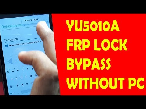 YU5010A FRP LOCK BYPASS WITHOUT PC SIMPLE WAY 2019