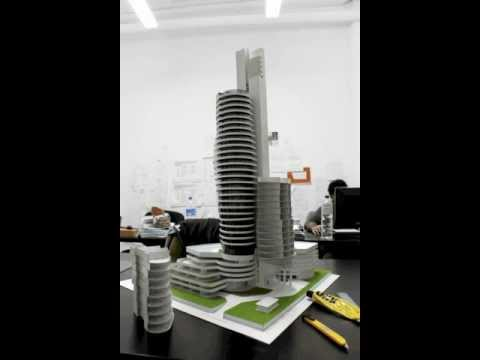 Architectural model time lapse - The making of Trinity Tower