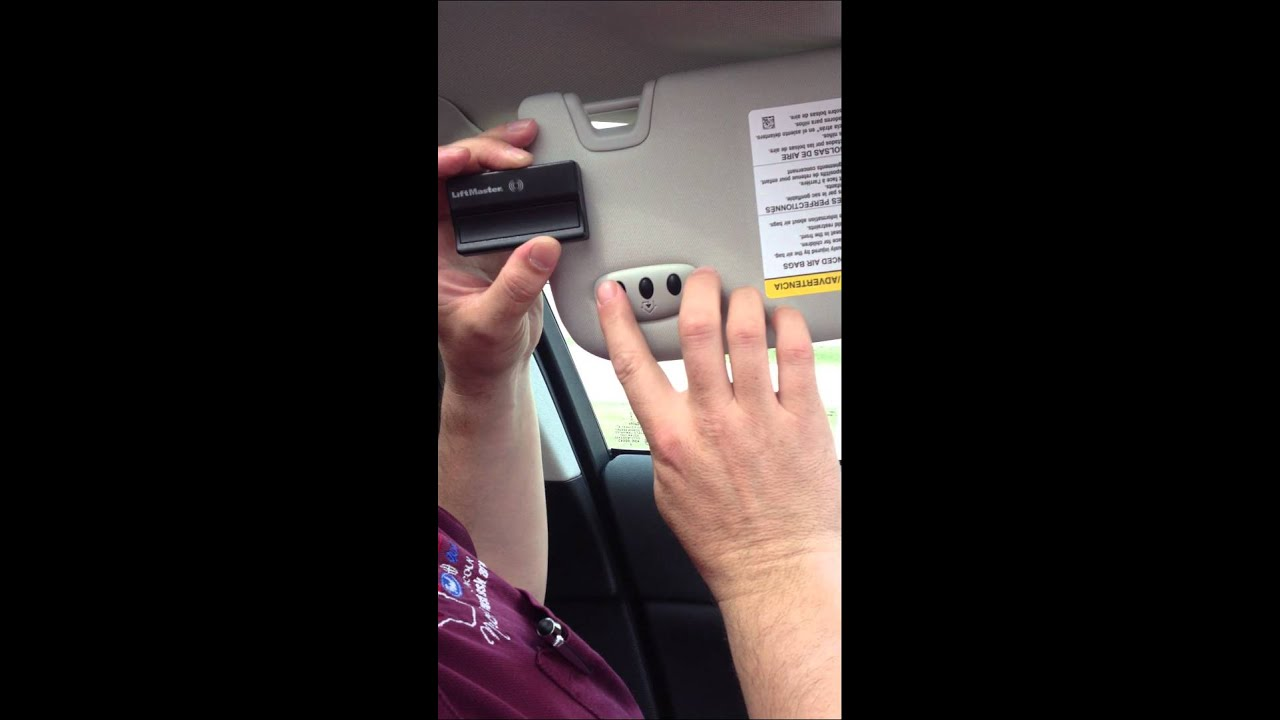 Program Liftmaster Garage Door Opener To Car Dandk Organizer