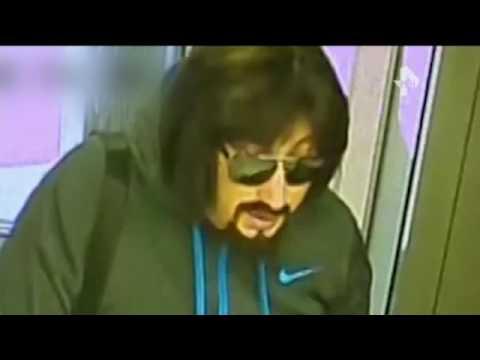 Кадры разбойного нападения на один из банков Казани