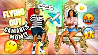 ROYALTY WANT'S ME TO FLY OUT CAMARI'S MOM FOR A 1 ON 1 IN CJ SO COOL'S CLOSET!