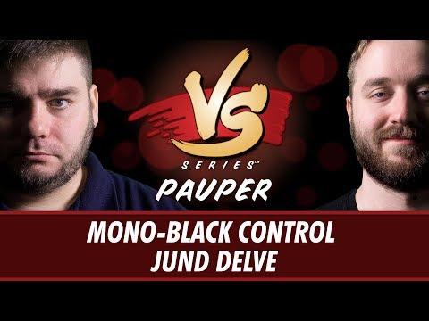 6/20/2018 - Todd VS Ross: Mono-Black Control vs Jund Delve [Pauper]