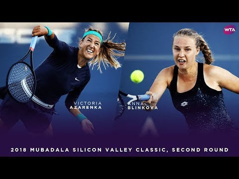 Victoria Azarenka vs. Anna Blinkova | 2018 Mubadala Silicon Valley Classic Second Round
