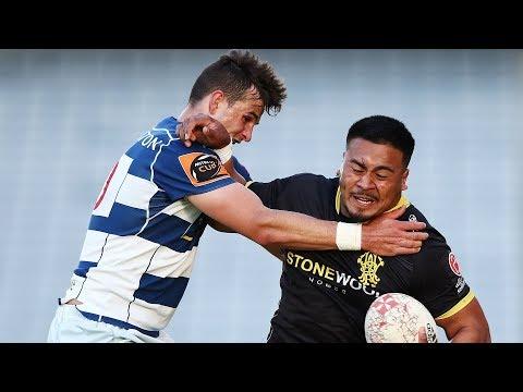SEMIFINAL HIGHLIGHTS: Auckland v Wellington - 2018