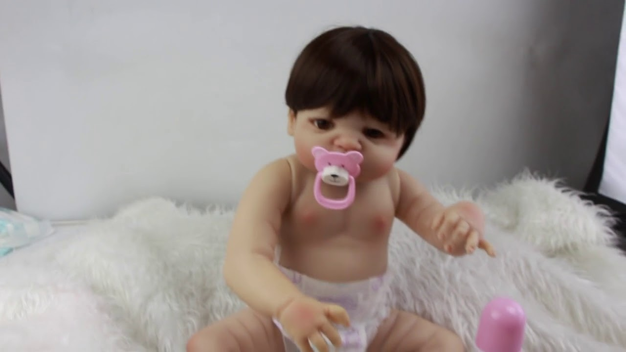 6d28bf742a2 Boneca Bebê Reborn Corpo Silicone