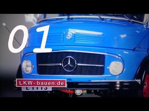 Bau den Mercedes L 1113 - Hachette # Ausgabe 01 deutsch