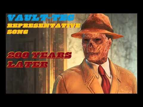 Fallout 4 Vault Tec Representative Song 200 Years later