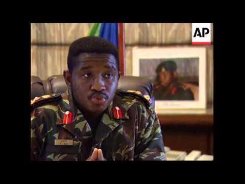 SIERRA LEONE COUP DETAT TOPPLES MILITARY LEADER YouTube