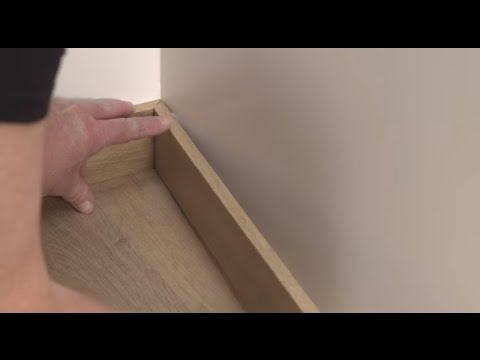 Installing Laminate Flooring How To Install Wallbases Or