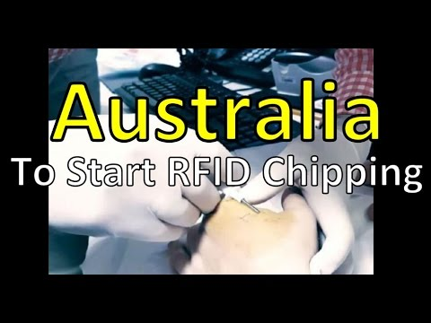 Australia To Start RFID Implanting Its Citizens