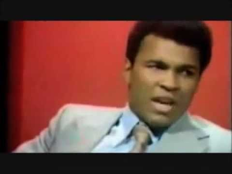 Muhammad Ali Compares Women Wearing Scarfs to American Women