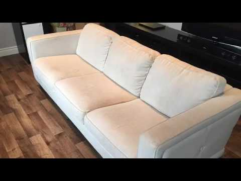 peindre un divan youtube. Black Bedroom Furniture Sets. Home Design Ideas