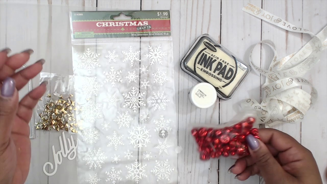 INEXPENSIVE GIFT IDEA | TUTORIAL | COME CRAFT WITH ME | EASY SIMPLE ...