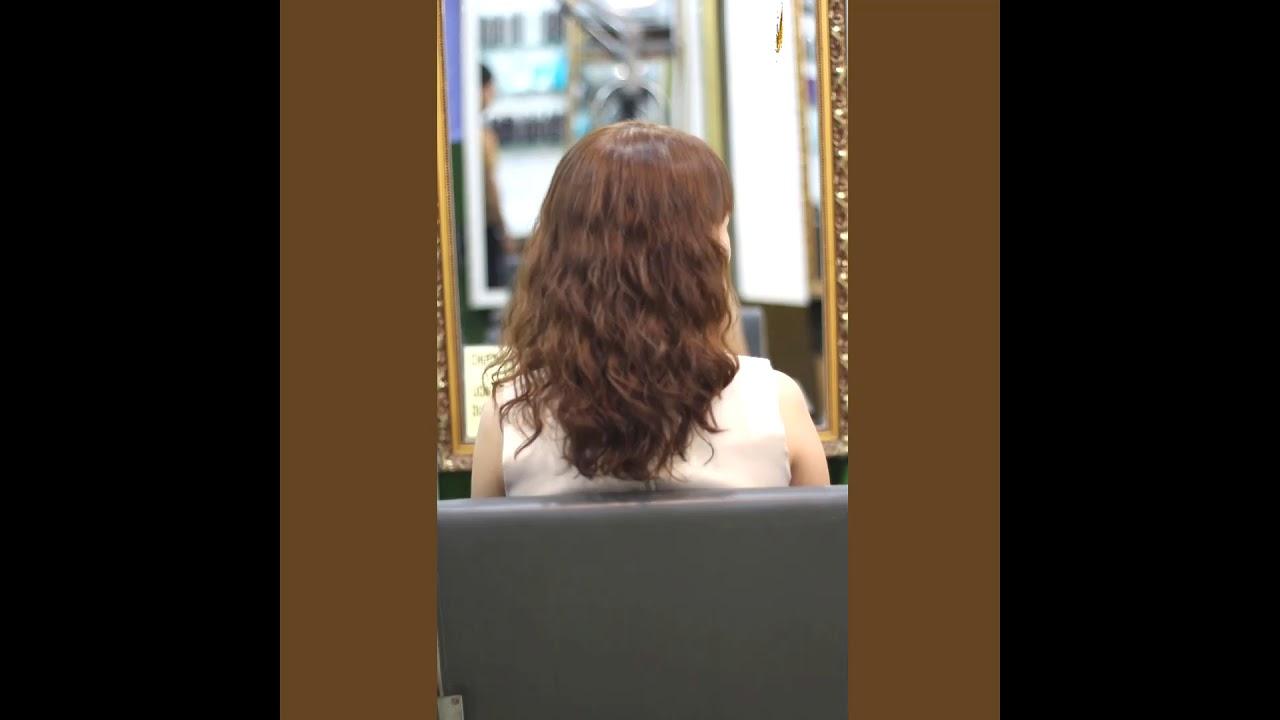 Kiểu tóc uốn gợn sóng nhỏ
