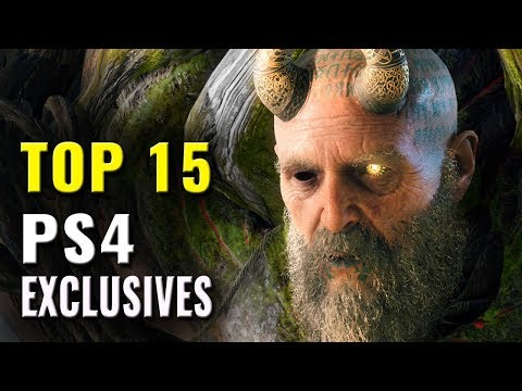 Top 15 Exclusive PS4 Games of All Time