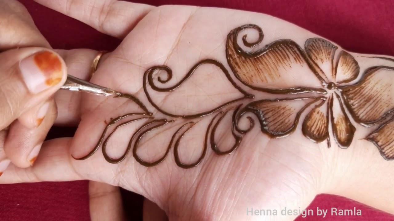 beautiful easy mehndi designs   easy arabic shaded mehndi designs   shaded mehndi designs easy
