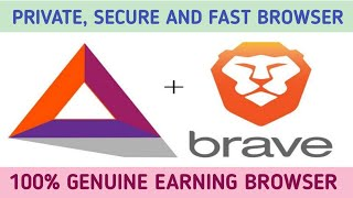 Brave browser Earn unlimited earning with safe secure & fast browser brave browser review Crypto24