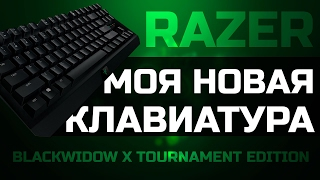 Razer Blackwidow X tournament Edition - Моя новая клавиатура