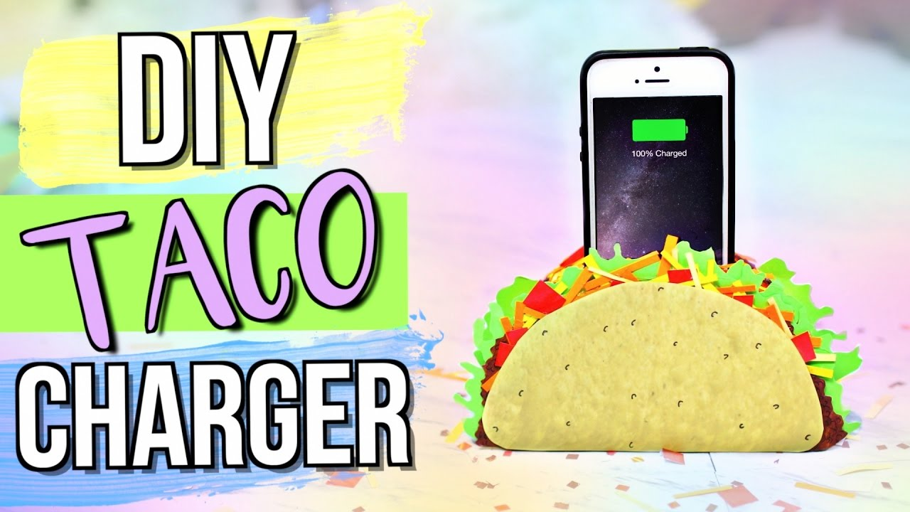 Diy Taco Phone Charger Holder Jenerationdiy Youtube