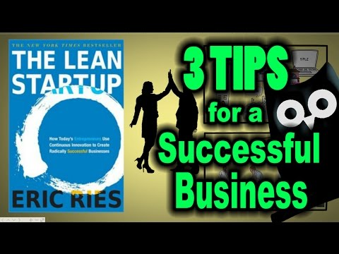 SUCCESSFUL BUSINESS TIPS - The Lean Startup ANIMATED BOOK REVIEW