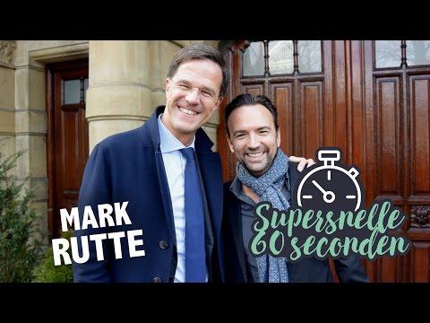 Supersnelle 60 Seconden met Mark Rutte
