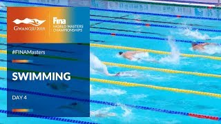 RE-LIVE | Swimming Day 4 | Main Pool | FINA World Masters Championships 2019