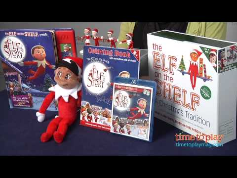 The Elf on the Shelf Products from CCA and B Publishing