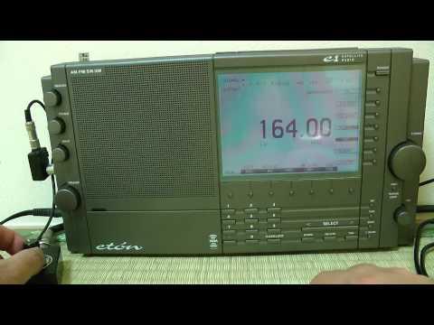 Posso sentire 164kHz Mongolia Radio? / Eton E1