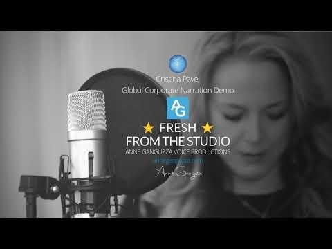 Cristina Pavel  - Global Corporate Narration Demo
