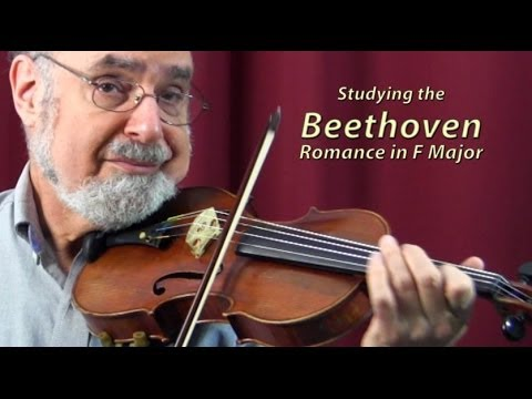 Beethoven Romance  Masterclass with Roy Sonne