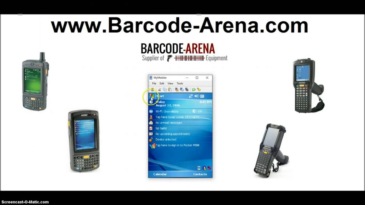 How To Install Datawedge Mc9090 Mc7090 Mc75 Mc55 Mc3090 Barcode