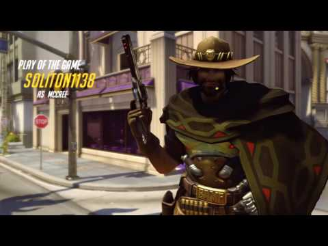 McCree shoots someone through his own hat