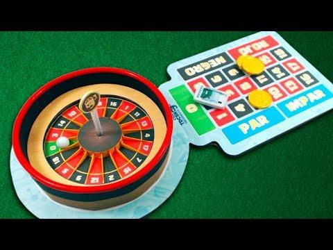 DIY CASINO ROULETTE - AMAZING cardboard GAME
