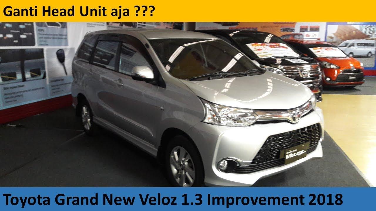 Head Unit Grand New Veloz 2018 Kelemahan Yaris Trd Sportivo Toyota 1 3 M T Improvement Review Indonesia
