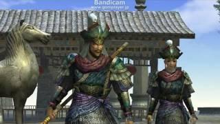 真・三國無双Online神将乱舞 魏 張遼のエンディングです。