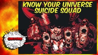 Suicide Squad History - Know Your Universe | Comicstorian