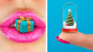 13 DIY Miniature Christmas Crafts!